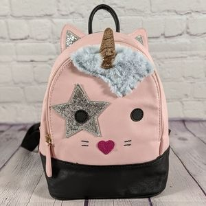 Betsey Johnson Unicorn Kitty Cat Backpack - NWOT